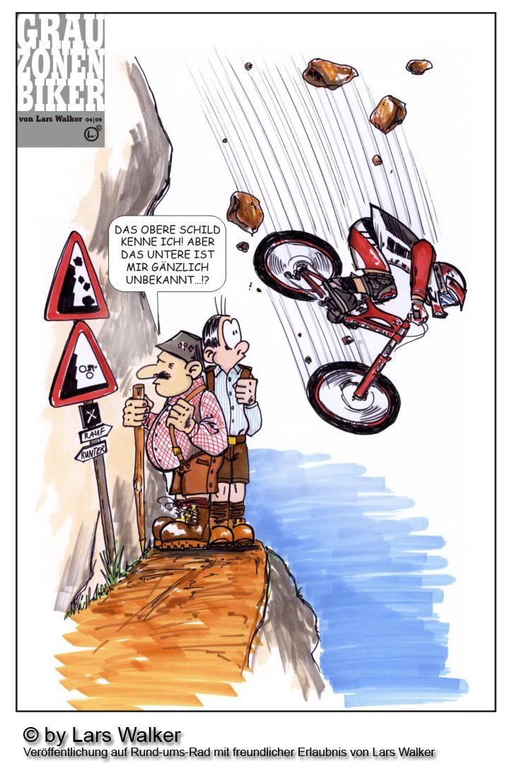 Radfahren Comic