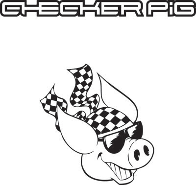logo checker pig