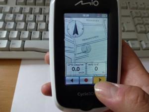 Bedienung Touchscreen