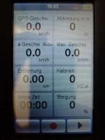 Mio Cyclo - Trackaufzeichnung