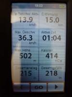Mio Cyclo - Infos aufgezeichneter Track