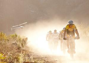 Kulhavy im Staub von Südafrika Sam Clark/Cape Epic/SPORTZPICS