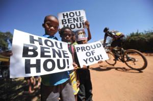 Fans aus Südafrika Kelvin Trautman/Cape Epic/SPORTZPICS
