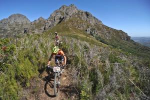 Yolande Speedy auf dem Trail Kelvin Trautman/Cape Epic/SPORTZPICS