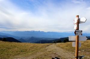 panorama und wegweiser