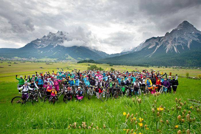 mountainbike womans camp