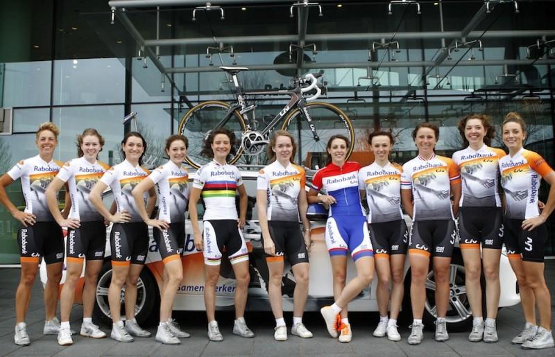 presentation of the Rabo  Liv Women Cycling Team 2014