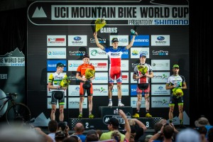 Podium XCO#2 Cairns