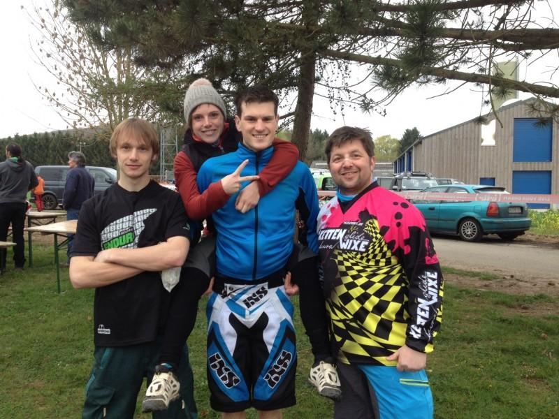 (v.l.) Partick, Steffi, Jonas, Bernhard