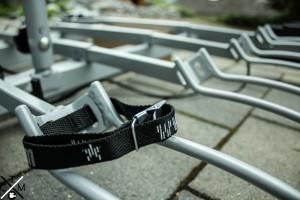 Schlaufen zur Befestigung der Räder