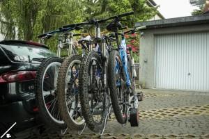 Montage von 4 Bikes