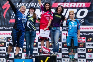 Awards Ceremony Pro Women - SSES Leogang Saalbach 2014