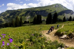 Downhill Mountain Biking in Avoriaz, France