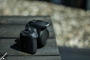 Frontansicht Canon Eos 700D