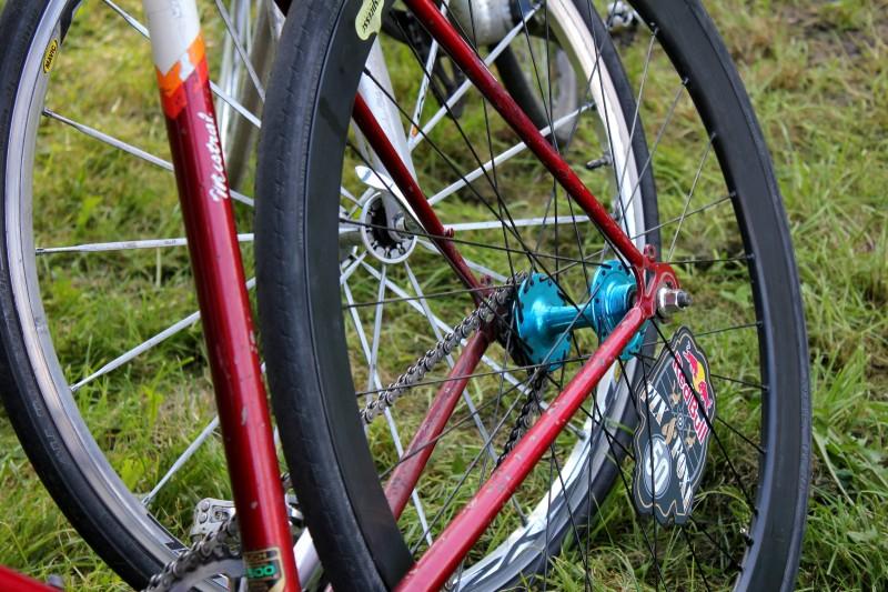Für Radbegeisterte gabs eine Menge an schönen Bikes zu bewundern