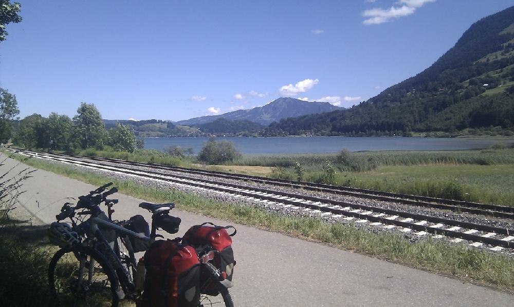 Rast am großen Alpsee