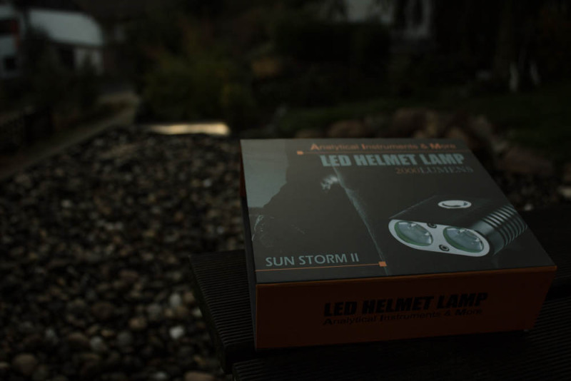 Verpackung der Sun Storm 2