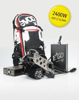 Unser für das Tyee gewählter Motor mit 2400 Watt © Ego-Kits