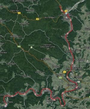 Strecke Lohr - Freudenberg *