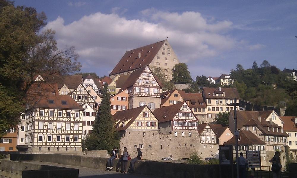 Blick auf Schäbisch-Hall