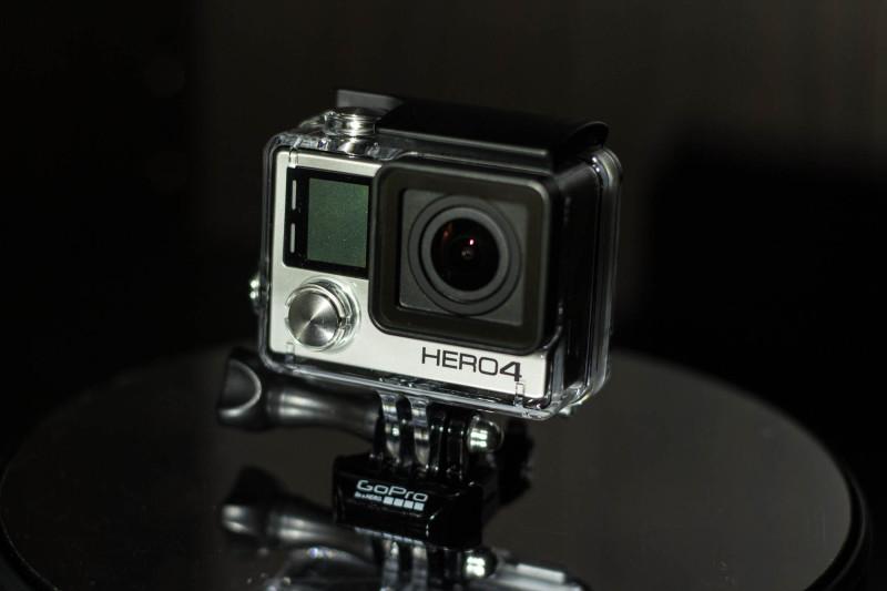 Altbekanntes Design der neuen GoPro Hero 4 Black Edition