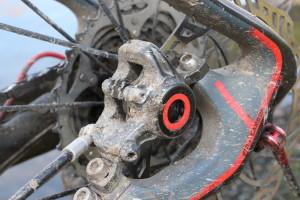 MT8 Bremszange Dauertest