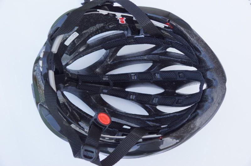 UVEX-Race 1, Blick in den Innenhelm