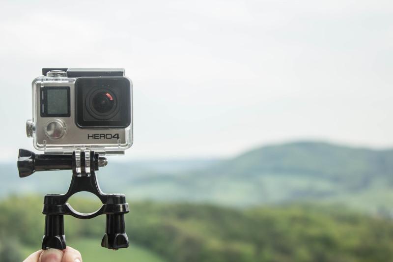 Die Klemme für eure GoPro