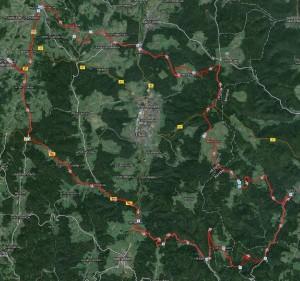Eine 100 km Tour  *