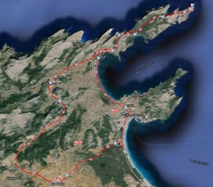 Route zum Cap Formentor <sup>*</sup>