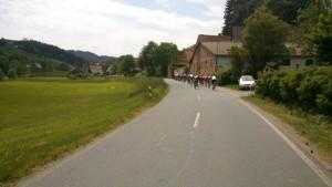 Starkenburg-RTF auf dem Weg nach Weschnitz **