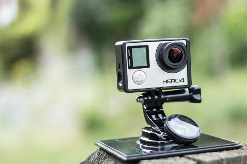 GoPro ohne Schutzlinse