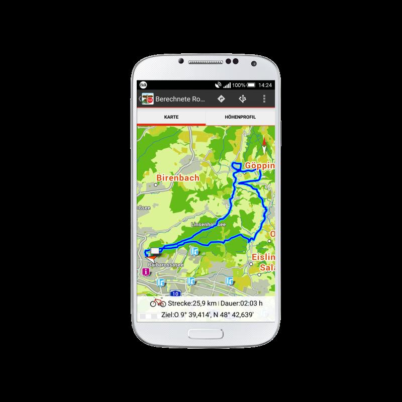 Hol dir die Falk Outdoor App auf dein Smartphone!
