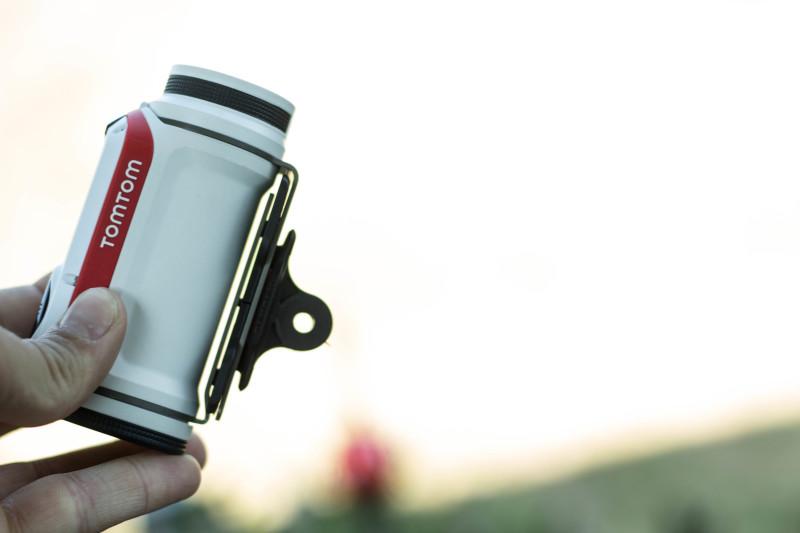 Auch mit Handschuhen gut zu bedienen - TomTom Bandit samt GoPro Adapter