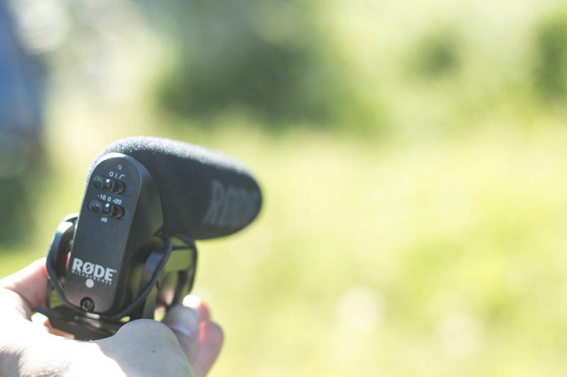 Auf den Punkt genau - Für Interviews oder ähnliches führt kein Weg am Video Mic Pro vorbei!