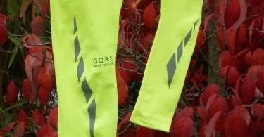 Gore Arm- und Beinlinge: Nicht zu übersehen