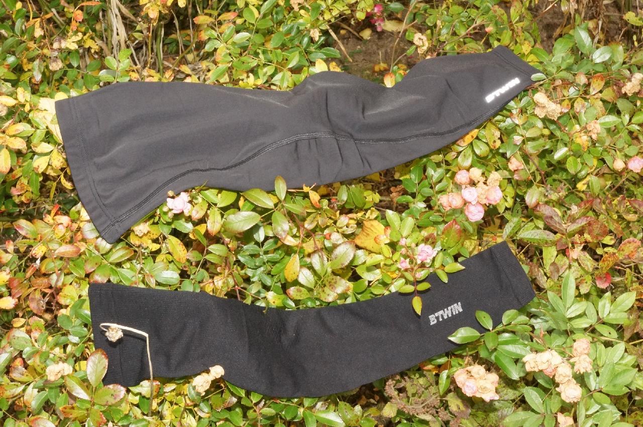 Decathlon Arm- und Beinlinge geblitzt
