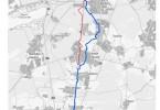 Radschnellweg Frankfurt Darmstadt: Karte