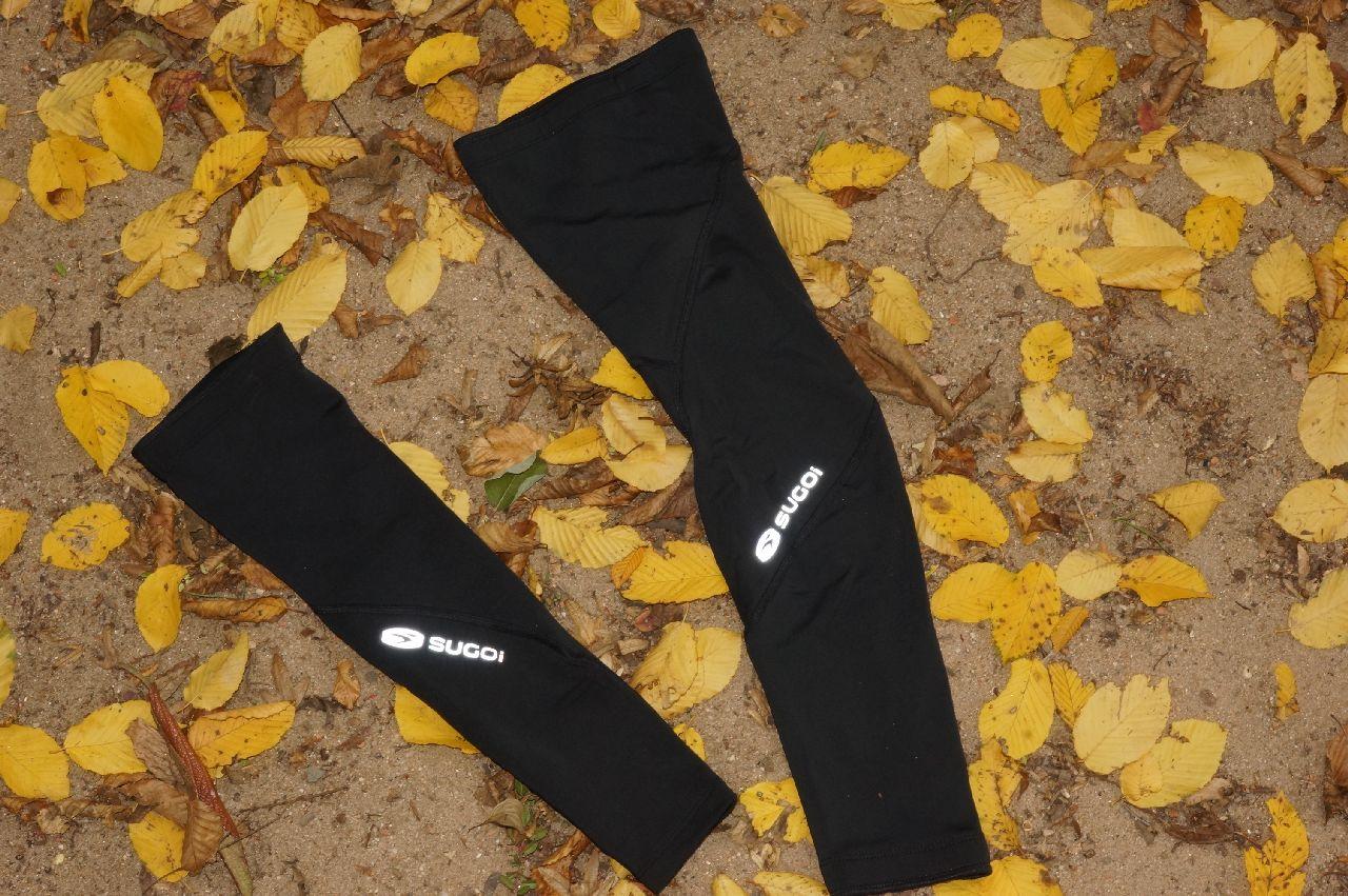 Sugoi Arm- und Beinlinge geblitzt