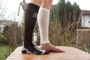 CEP Calf Sleeves und Cycle Socks