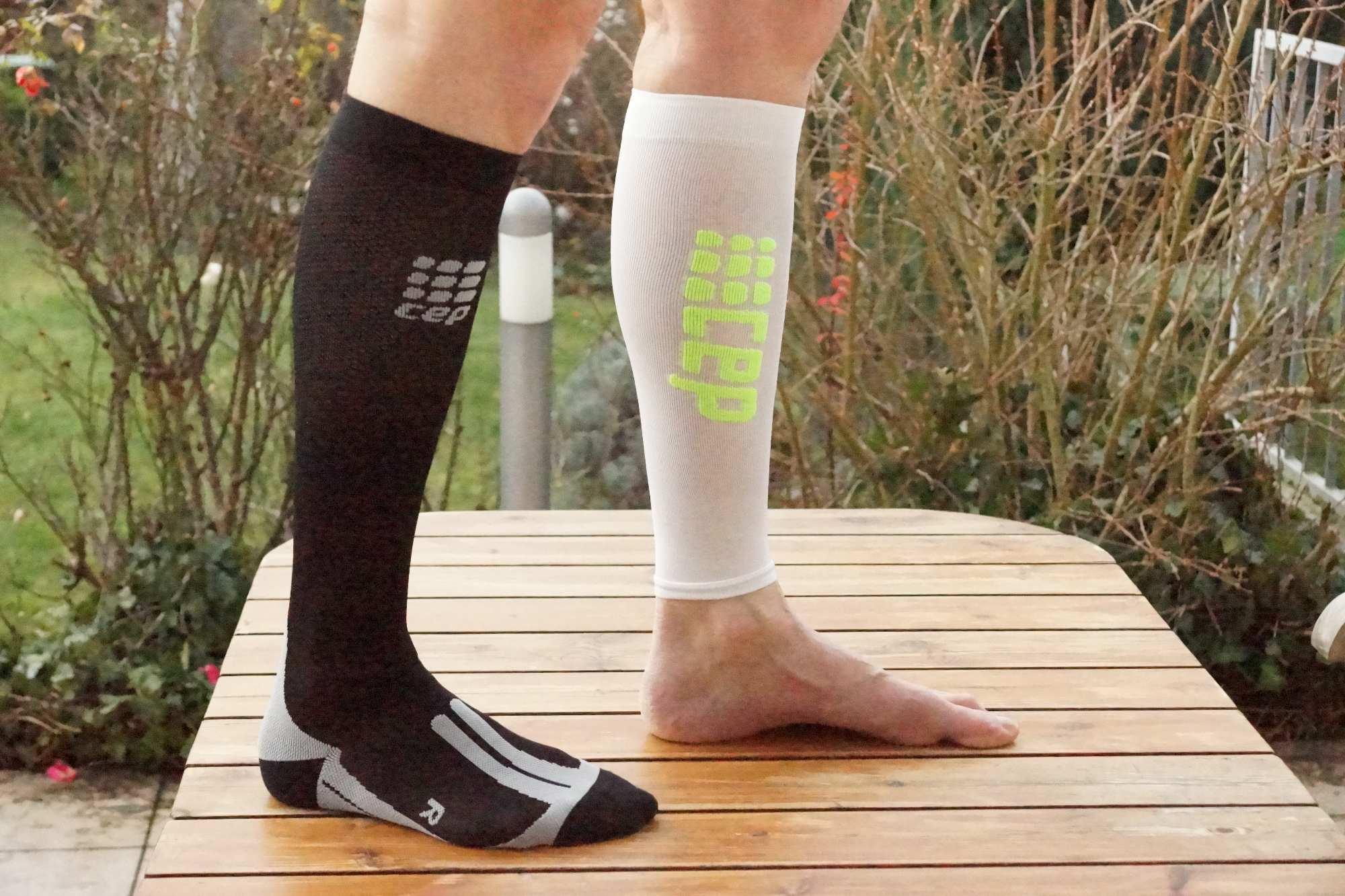 CEP Cycle Socks und CEP Calf Sleeves