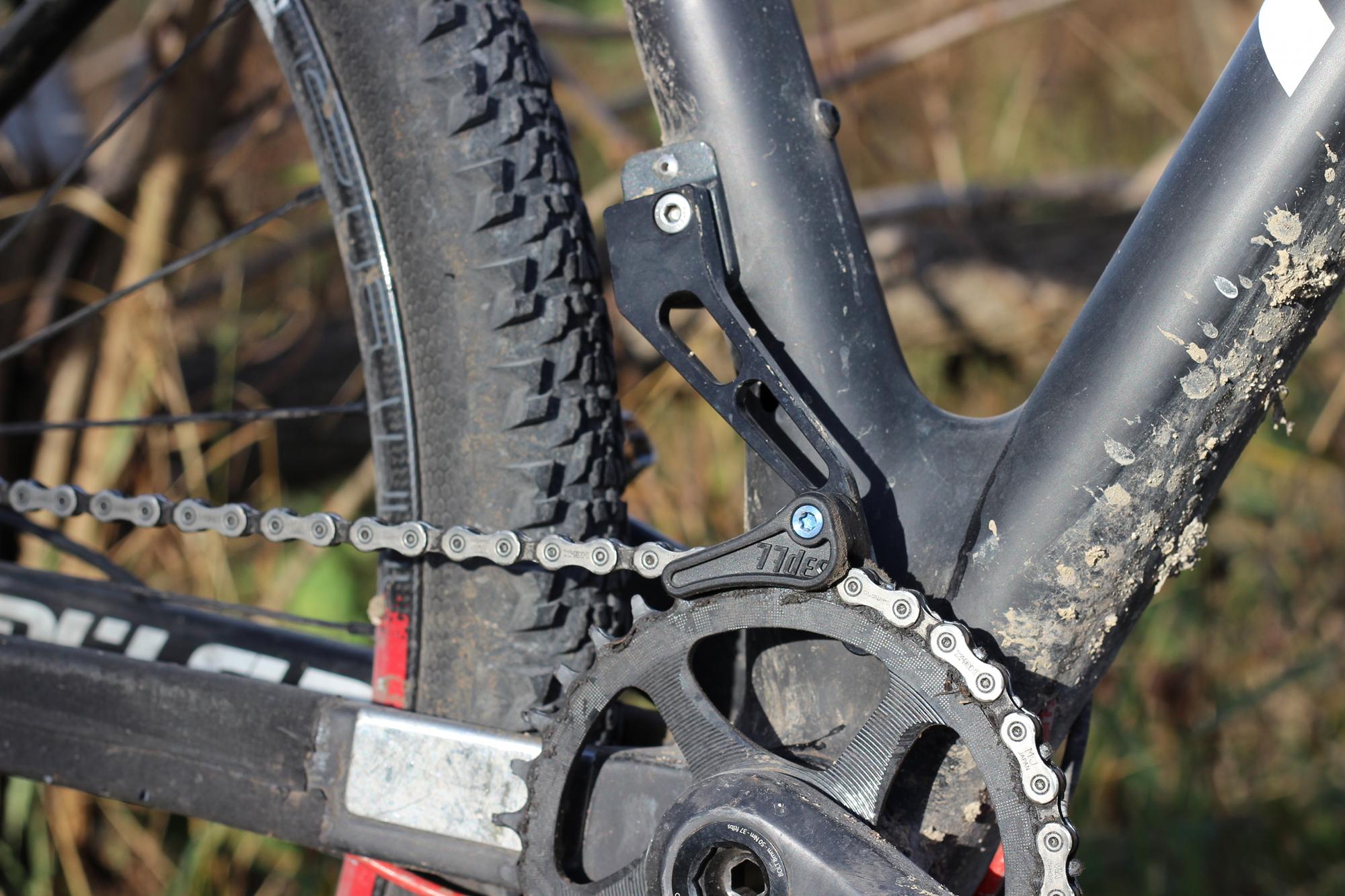 77designz freesolo hdm kettenf hrung im test for Fahrrad minimalistisch