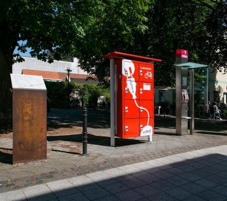 E-Bike Ladestation Stadtwerke Dormagen beim Rathaus