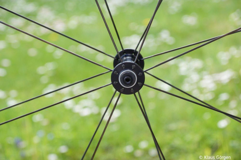 Rolf Prima Ares6 Vorderradnabe radial eingespeicht