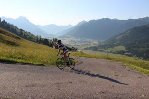Mit dem Rennrad im Tannheimer Tal