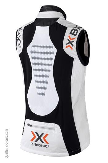 Spherewind whiteblack; Rückseite | Quelle: x-bionic.com