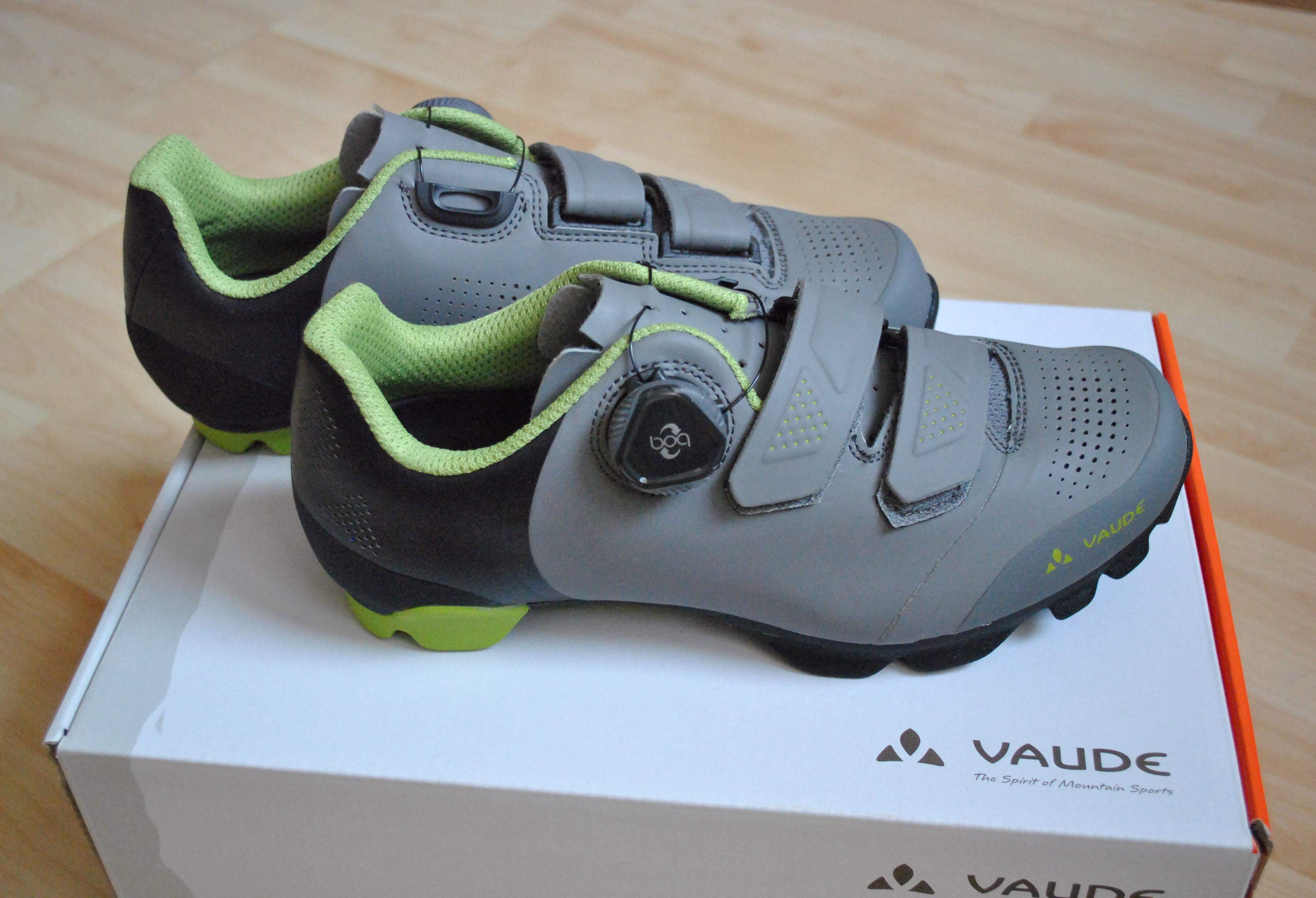 wholesale dealer 1b962 f731a MTB-Schuh SNAR ADVANCED von Vaude im Test