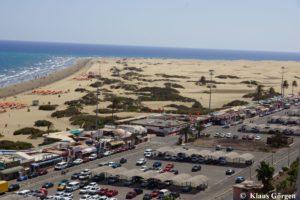 Corallium Dunamar: Blick auf Strand und Dünen