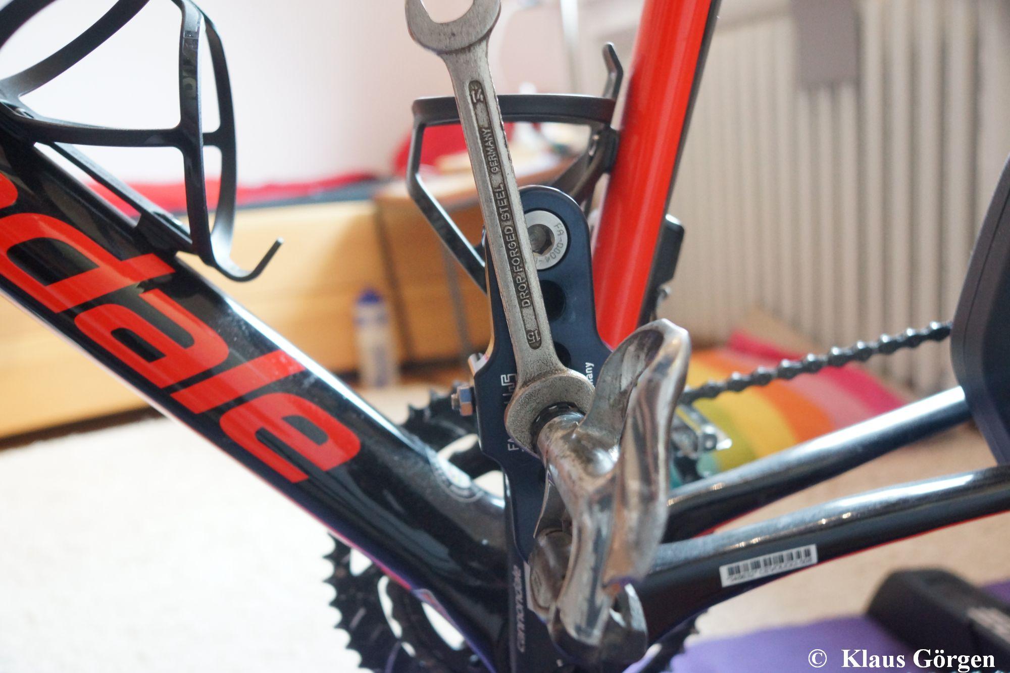 FA 5/20 L: Nur noch das Pedal montieren
