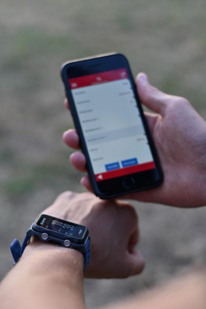 Vereinzelt hatten wir GPS Probleme - Das Handy konnte zu diesem Zeitpunkt problemlos aufzeichnen